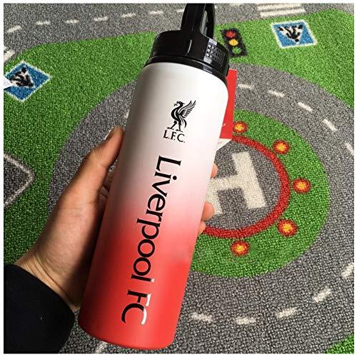Enweonga 2020 Nouveau Grand Cadeau pour Tout Supporter De Liverpool, Bouilloire, Tasse, Aluminium - 25Oz Produit Officiel Fournitures De Ventilateur De Football