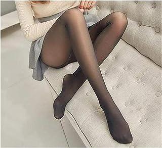 comprar comparacion Leggings Leggings De Invierno Gruesas Legins Mujeres Través De La Carne Caliente Pantalones Polainas De Las Mujeres Calien...