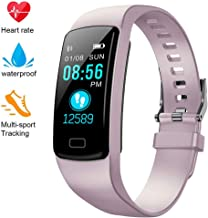 Airbinifit Fitness Tracker for Women Men,Colorful Screen Activity Tracker Smart Watch with Heart Rate Monitor,Waterproof Pedometer Watch, Sleep Monitor, Stopwatch,Step Counter?2020 Version?