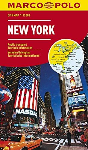 MARCO POLO Cityplan New York 1:15.000: Stadsplattegrond 1:15 000 (MARCO POLO Citypläne)
