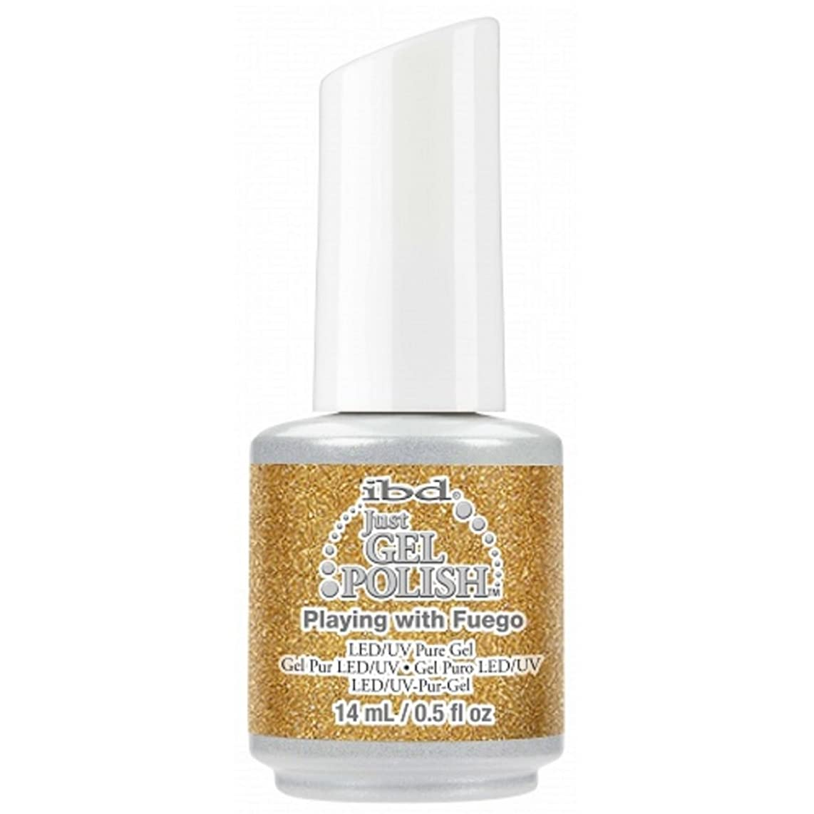真剣にピック農学ibd Just Gel Nail Polish - Playing With Fuego - 14ml / 0.5oz