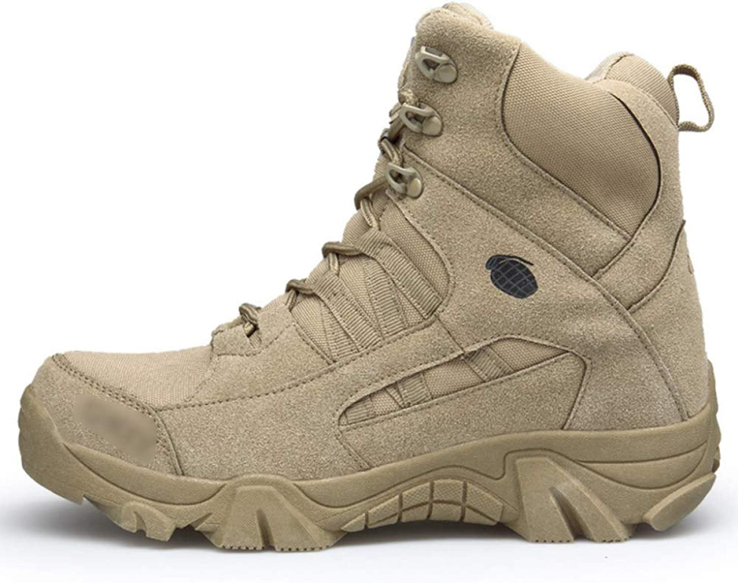 Mens Army Boots Special Forces Desert Tactics Boot Outdoor Mountaineering Combat shoes Assault Trained Armed Footwear