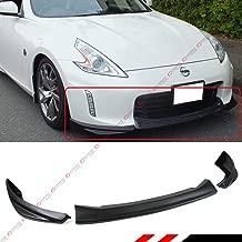 Fits for 2013-2018 Nissan 370Z Z34 TK 3pc Style Front Bumper Lip Spoiler Splitter Kit