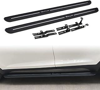 QQKLP Fit per Hyundai Tucson 2015-2018 Fusion Racing GRIGLIA griglia Anteriore della Copertura della Mascherina Griglie di Misura per Fusione Mondeo Nero Argento Car Styling