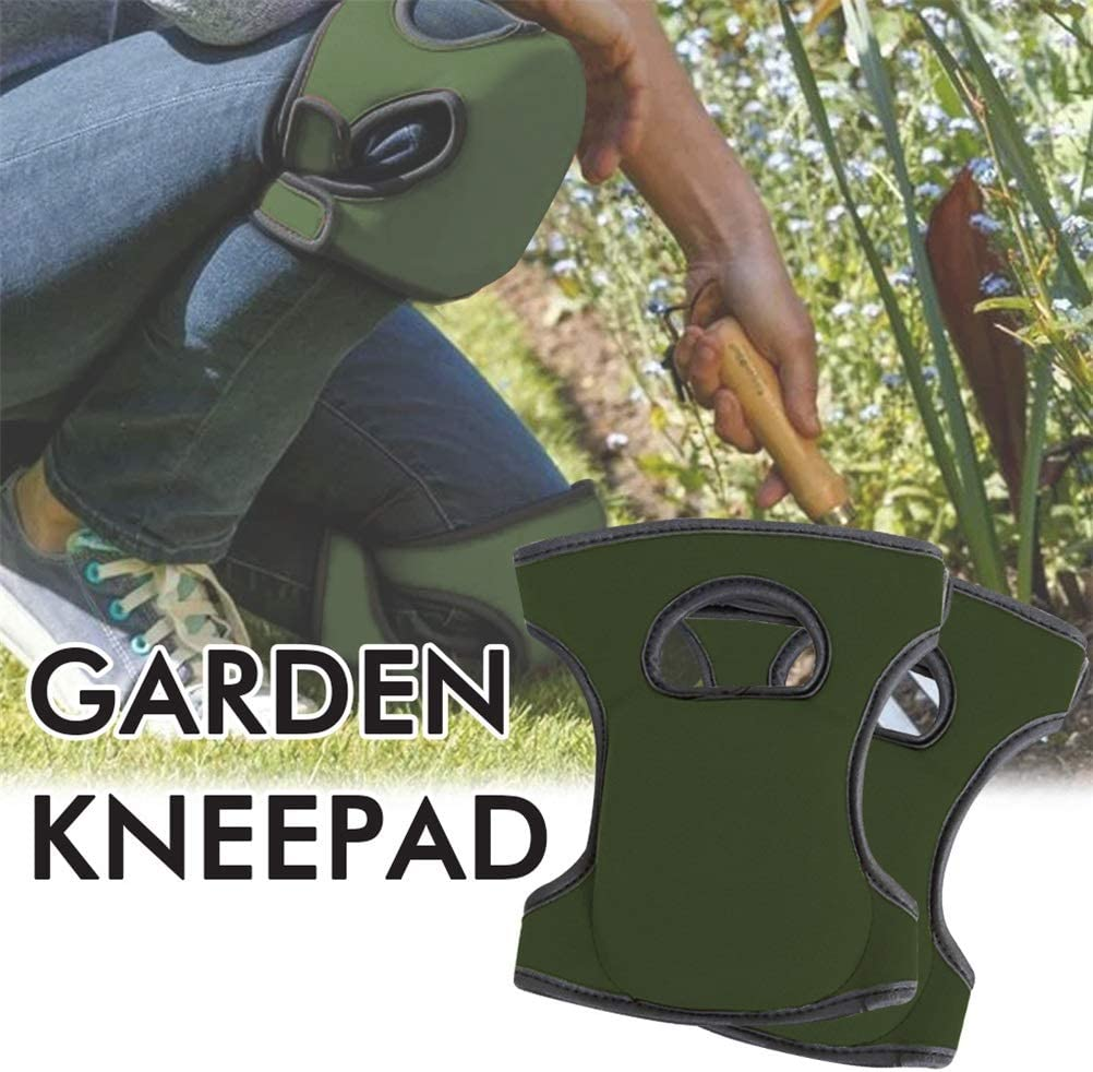 RetroFun Protective Knee Pads,Gardening Knee Pads Soft Foam Knee Protector with Double Straps for Garden Cleaning Work Scrubbing Floors