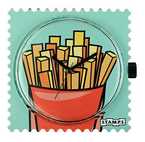 S.T.A.M.P.S. Stamps klok - wijzerplaat Funny Fries 103783