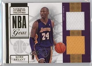Kobe Bryant #43/99 (Basketball Card) 2009-10 Playoff National Treasures - NBA Gear - Combos #1