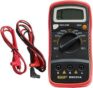 HELYZQ Medidor digital de resistência de isolamento BM500A 1000V 1999M Megger