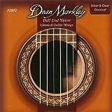 Dean Markley 3120942802Ball End Nylon Standard 28?42Accessoire pour Guitare Argenté/transparent