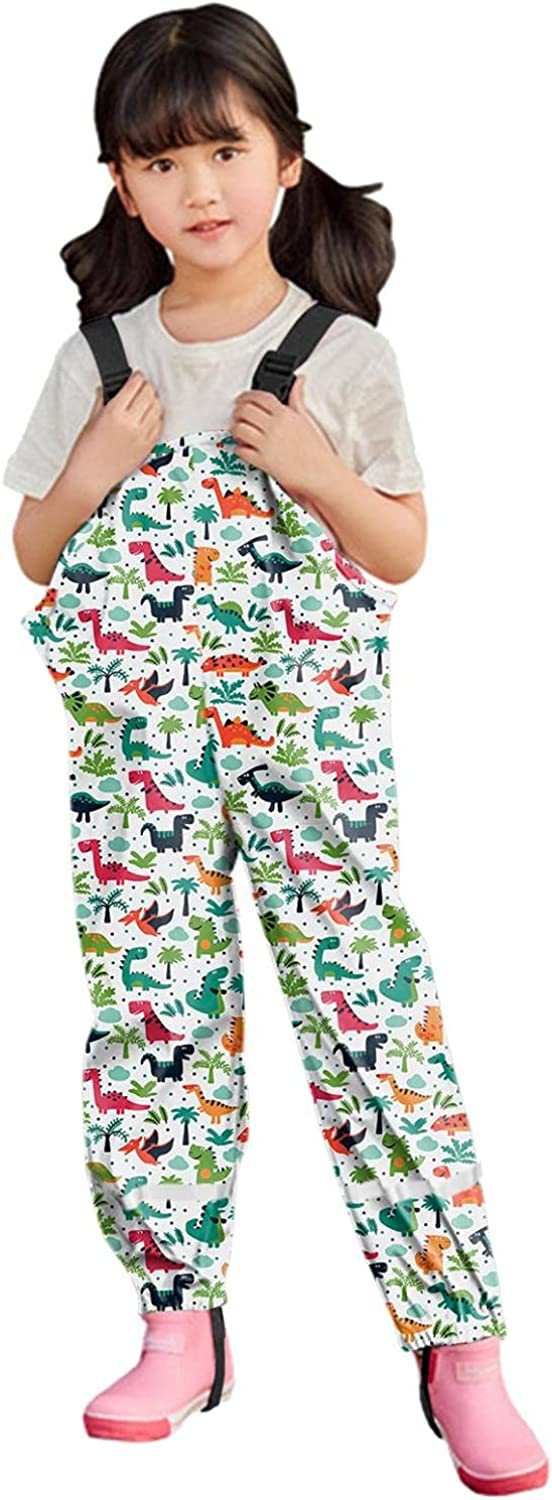 Boys and Girls Waterproof Rain low-pricing Trous Proof Pants Suspender Dirty Max 51% OFF