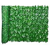 Haie Artificielle/Brise Vue pour Balcon, Écran De Clôture De La Vie Privée, Résistant Aux UV, Protégée De La Décoloration, Clôture De Jardin Paysagers, Écran De Balcon, Vert
