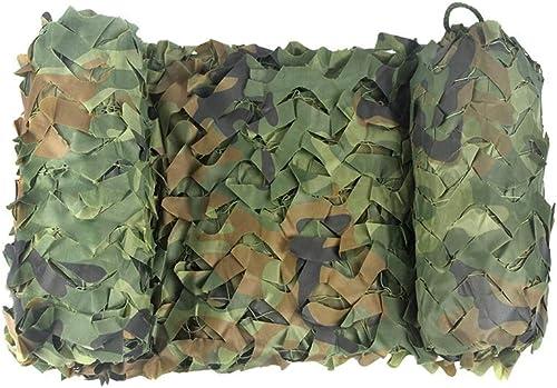Qjifangzyp Auvent de terrasse Tissu d'Oxford de Camouflage de Jungle pour la Prougeection extérieure de Camping de boisland cachée   2m 3m 10m Filet de Camouflage Filet de Prougeection Solaire