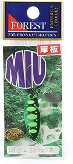 フォレスト(FOREST) ルアー MIU(ミュー)ネイティブシリーズ 4.2g №12 スプーン