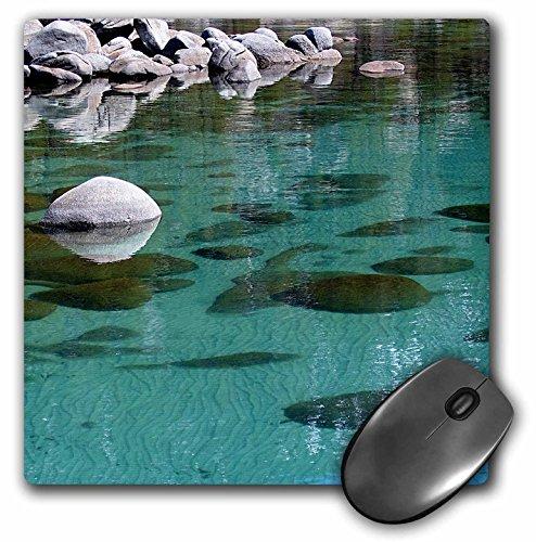 Paul Honatke Fotografie Lake Tahoe - Tahoe Blauw Zand van een afstand - MousePad (mp_21904_1)