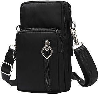 Handy Umhängetasche, Universal Handytasche zum Umhängen Kartentasche Geldbörse Kleiner Taschen Damentasche für Frauen Kind...