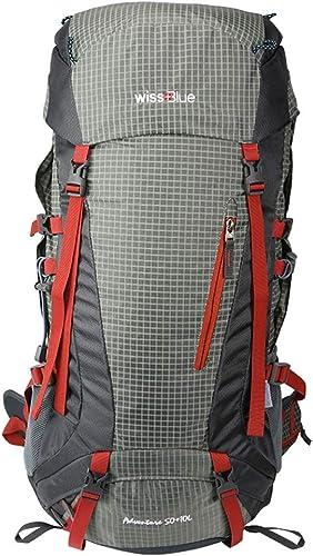 QYSZYG Sac d'alpinisme en Plein air 40L pour Hommes et Femmes Sac à Dos en Plein air