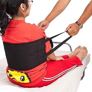QEES Trasling- Arnés de cinturón de gait con asas acolchadas, cinturón médico para silla