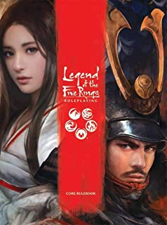 Fantasy Flight Games  Legend of the Five Rings Core Rulebook , Red , Small