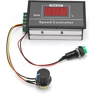 Motor Controller, DC 6-60 V 12 V 24 V 36 V 48 V 30A PWM DC Motor Speed Controller Start Stop Schakelaar Verstelbare Trap...