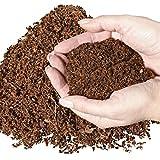 natürliches Terrariensubstrat lose im Beutel- trocken und streufähig – 100% reine Kokoserde als Kokoseinstreu Bodengrund Kokossubstrat - 4
