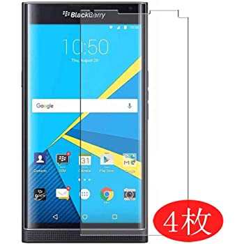 Not Tempered Glass 【4 Pack】 Synvy Screen Protector for BlackBerry Evolve 0.14mm TPU Flexible HD Clear Case-Friendly Film Protective Protectors