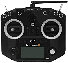 FrSky 2.4G Accst Taranis Q X7 16 Channels Transmitter Remote Controller Black Battery and Battery Trays Not Include