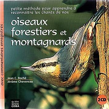 Oiseaux forestiers et montagnards (Avec commentaires)
