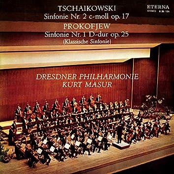 Tschaikowski: Sinfonie No. 2 / Prokofjew: Sinfonie No. 1