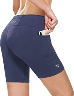 navy blue women's running shorts