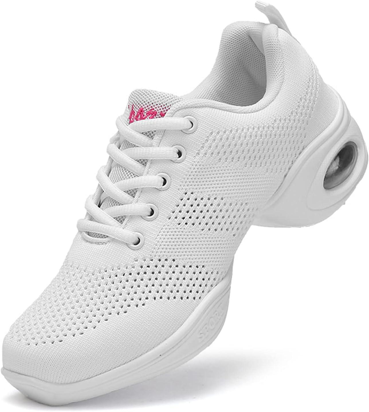 MYYU Women's Dance Shoes,Breathable Fashion Sneakers,Dance Jazz