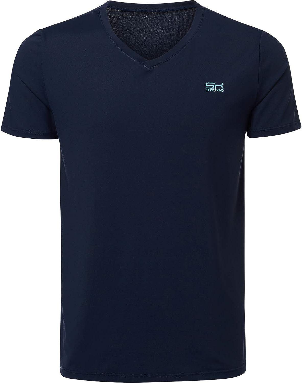 Sportkind Jungen & Herren Tennis Tennis Tennis Running Fitness T-Shirt B010BLGBVY  Wirtschaft bd7768