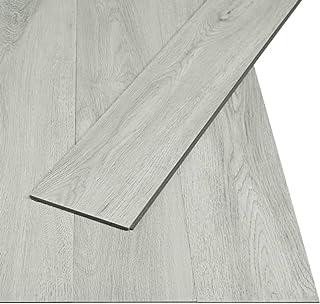 vidaXL Lamas Tarima Suelo PVC de Click 3,51 m² 4 mm Gris