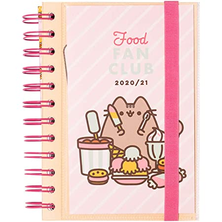 Grupo Erik Diario Scuola Giornaliero 2020/2021 Pusheen the Cat, Foodie Collection, 11 mesi, 11,4x16 cm