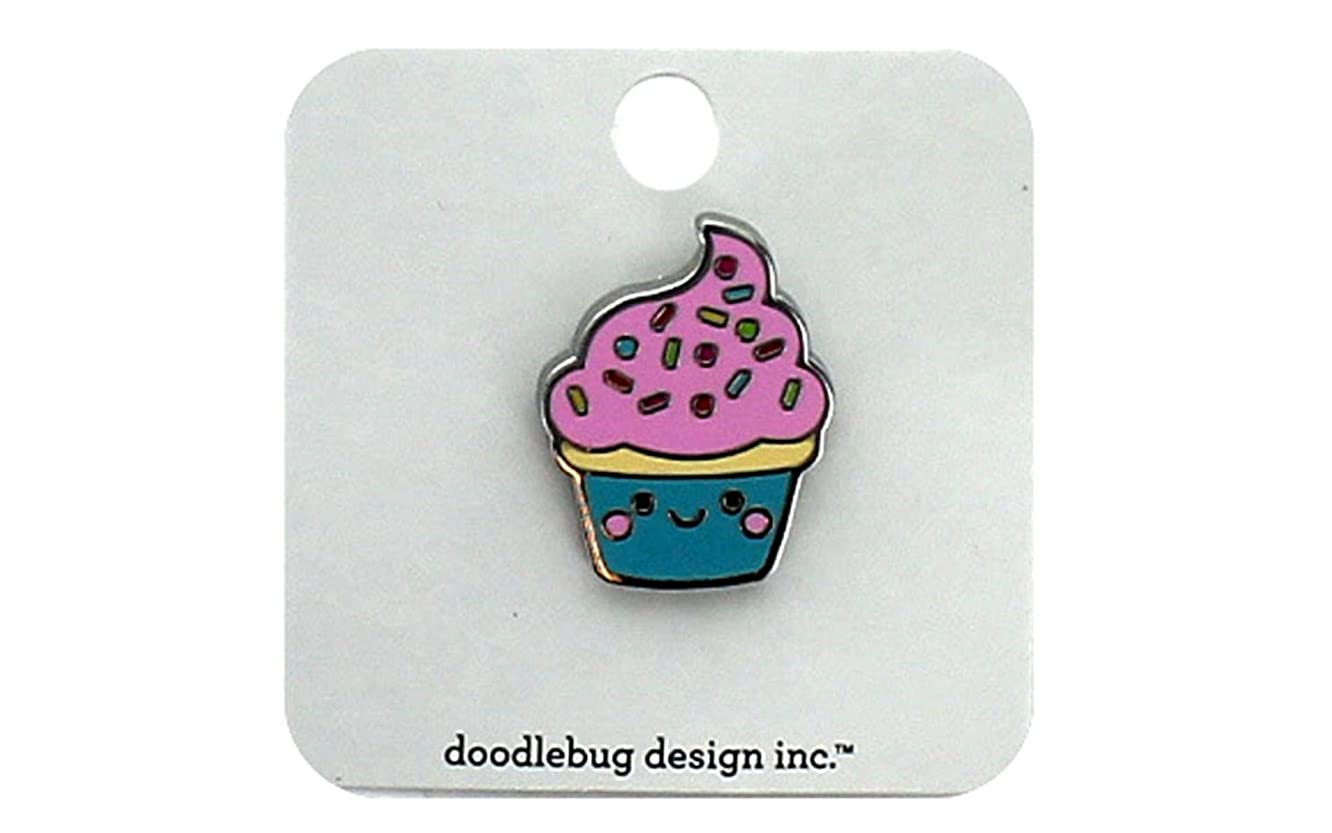 DOODLEBUG 6062 SMP Collectible Pins Cupcake