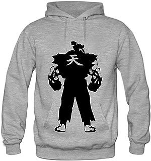 Andrea Sotaski Akuma Character Gamer Mens Hoody Sweatshirt