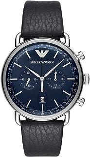 Emporio Armani Men's AR11105 Chronograph Quartz Blue Watch