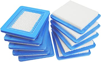 HUZTL 10Pack OEM Air Filter Replacement for Briggs & Stratton 491588 491588S 4915885 399959 John Deere PT15853 Oregon 30-710 Stens 102-549
