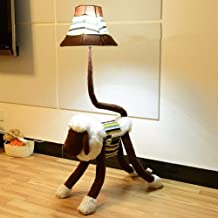 KANJJ-YU Floor Lamp, Floor Lights Child Cartoon Lovely with Remote Control Cloth Vertical Floor Lamps, Floor Lights for Li...