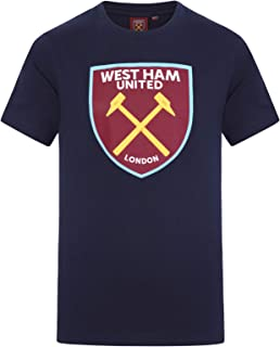Official Soccer Gift Boys Kids Crest T-Shirt