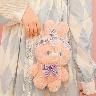 Hengyuan 2021 Sac de poupée en Peluche Sac à bandoulière Lolita avec chaîne de Perles Hiver Sac à bandoulière Animal Doux ...