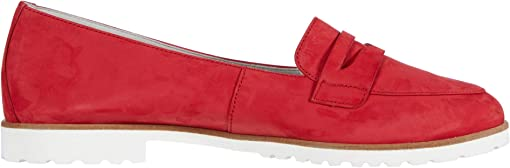 Red Nubuck