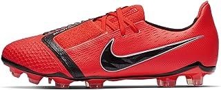 Official Brand Nike Phantom Venom Elite Firm Ground Football Boots Juniors Crimson Soccer Shoes