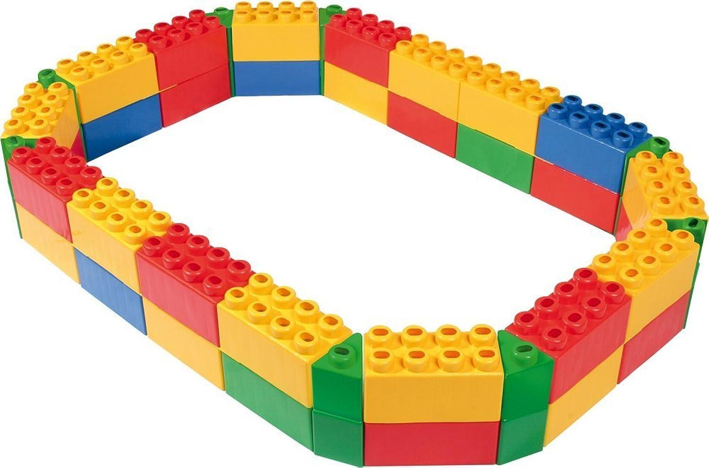 el precio más bajo Wader 34020 - Caja de de de arena para juegos infantiles (64 bloques), varios Colors  barato en línea