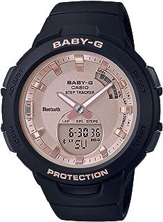 Casio Womens Quartz Watch, Analog-Digital Display and Resin Strap - BSA-B100MF-1ADR