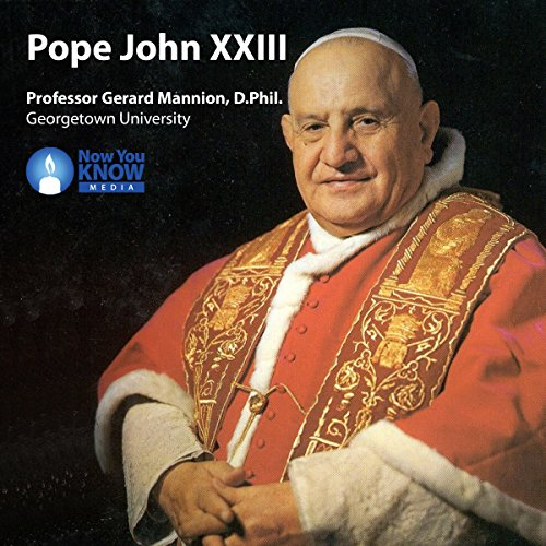 Pope John XXIII audiobook cover art