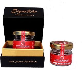 Organic Kashmir Saffron (Kesar) 1g 100% Pure in Gift Box