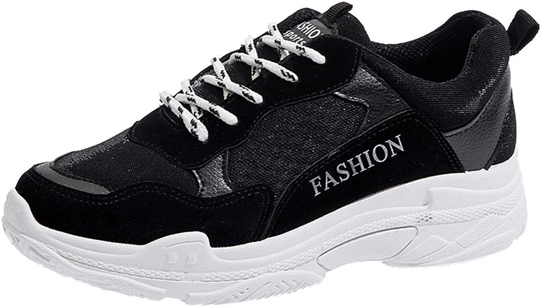 Kvinnliga skor, tjocka skor, modedamer, modedamer, modedamer, tillfälliga skor, skor med vita sulor, för shopping, dejting, löpning  fitness återförsäljare