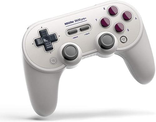 8Bitdo Sn30 Pro+ Bluetooth Gamepad (G Classic Edition) - Nintendo Switch