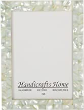 Handicrafts Home Picture Frames Chic Photo Frame Mother of Pearl Handmade Vintage from 5x7 Green – Thanksgiving Gifts