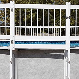 Protect-A-Pool Fence - White Gate Kit